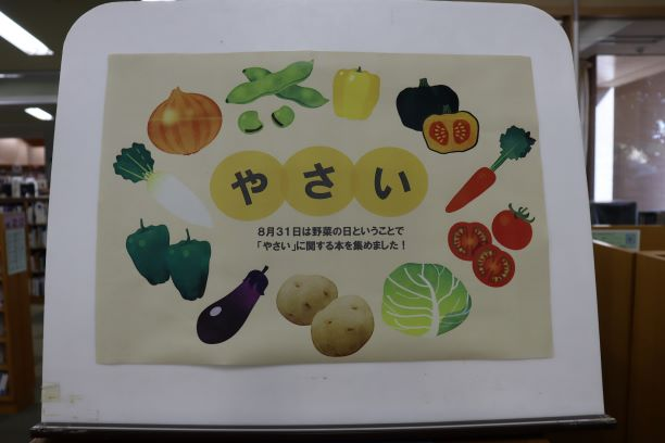 野菜展示ポスター